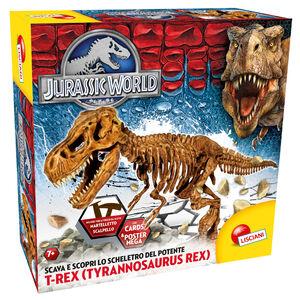 Giocattolo Jurassic World Super Kit T-Rex Lisciani 0