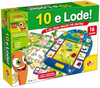 Giocattolo Carotina 10 e Lode. Primo Inglese Lisciani