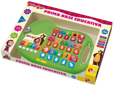 Giocattolo Masha e Orso. Prima Stazione Educativa Lisciani 0