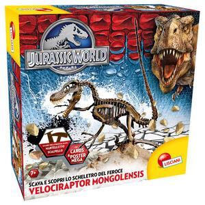 Giocattolo Jurassic World Super Kit Velociraptor Lisciani 0