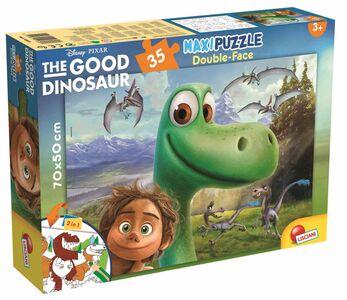 Giocattolo Puzzle Double-Face Supermaxi 35 pezzi The Good Dinosaur. Il Viaggios di Arlo Lisciani