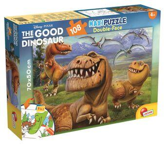 Foto di Puzzle Double-Face Supermaxi 108 pezzi The Good Dinosaur. Il Viaggio di Arlo, Giochi e giocattoli