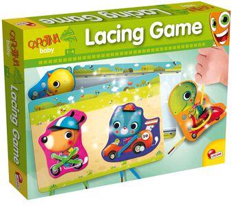 Giocattolo Carotina. Baby Lacing Game. Gioco con I Lacci Lisciani