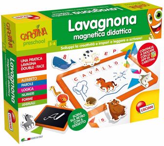 Giocattolo Carotina. Lavagnona Magnetica Lisciani 0