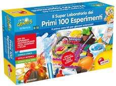 Giocattolo Piccolo Genio. I Miei Primi 100 Esperimenti Lisciani