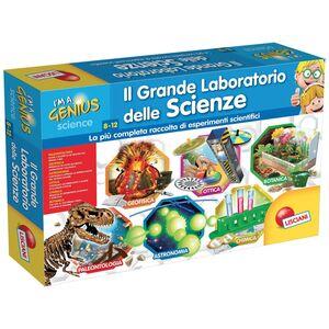 Giocattolo Piccolo Genio. Il grande laboratorio delle scienze Lisciani