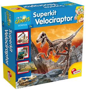 Piccolo Genio. Super Kit Velociraptor