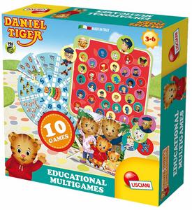 Giocattolo Daniel Tiger. Educational Multigames Lisciani 0