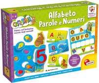 Giocattolo Carotina. Maxi alfabeto parole e numeri Lisciani