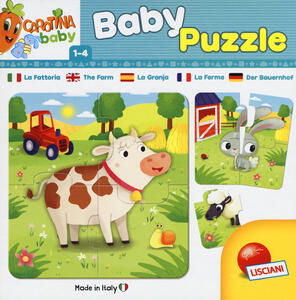 Carotina Baby Puzzle La Fattoria