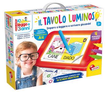 Io Leggo A 3 Anni Con Tavolo Luminoso