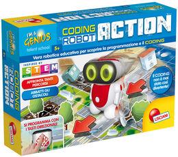 Giocattolo Piccolo Genio. Super Coding Robot Action Lisciani