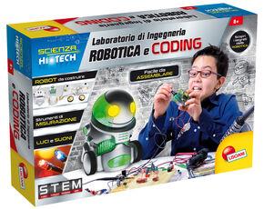Giocattolo Scienza Hi Tech Laboratorio Di Ingegneria Robotica E Coding Lisciani