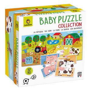 Giocattolo Ludattica Baby Puzzle Collection La Fattoria Ludattica