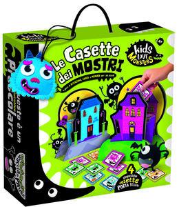 Giocattolo Kids Love Monsters Le Casette Dei Mostri Lisciani