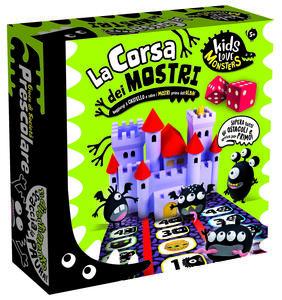 Giocattolo Kids Love Monsters La Corsa dei Mostri Lisciani