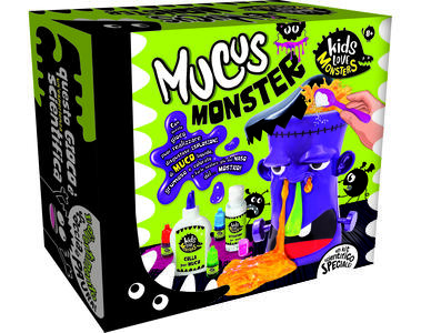 Giocattolo Kids Love Monsters Mucus Monsters Lisciani