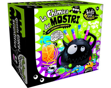 Giocattolo Kids Love Monsters Chemical Monsters Lisciani