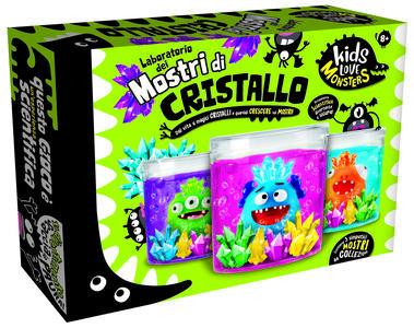 Giocattolo Kids Love Monsters Mostri di Cristallo Lisciani