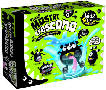 Giocattolo Kids Love Monsters Piccoli Mostri Crescono Lisciani