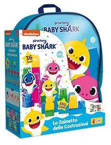 Baby Shark Zainetto Costruzioni Baby 36 Pcs