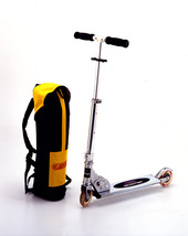 Monopattino Scooter a 2 ruote con sacca trasporto