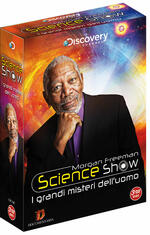 Morgan Freeman Science Show. I misteri dell'uomo (3 DVD)