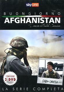 Buongiorno Afghanistan. Diario di Fabio Caressa (2 DVD) - DVD