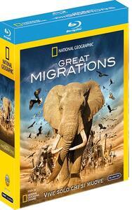 Film Great Migrations (3 Blu-ray) Leslie Schwerin