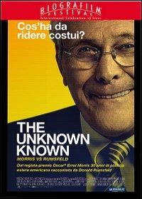 Cover Dvd Unknown Known. Morris vs Rumsfeld (DVD)