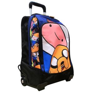 Cartoleria Zaino Organizzato con Trolley Adventure Time Panini 0