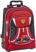 Cartoleria Zaino Trolley organizzato Premium Ferrari Kids Panini