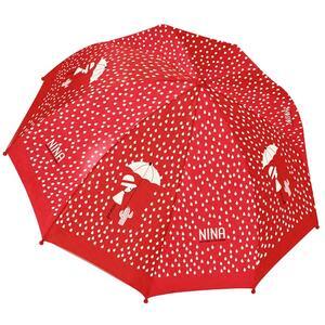 Ombrello Nina. Rosso