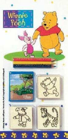 Blister 3 Timbri. Winnie The Pooh