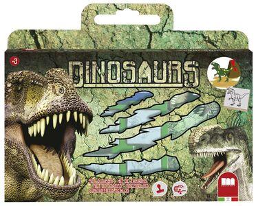 Giocattolo Valigetta Dinosauri Multiprint