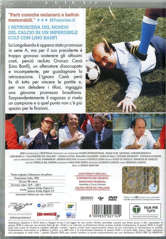L' allenatore nel pallone (DVD) di Sergio Martino - DVD - 7