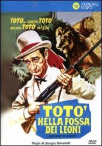 Cover Dvd Totò nella fossa dei leoni