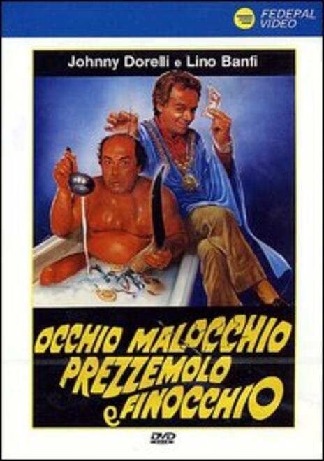 Occhio malocchio prezzemolo e finocchio di Sergio Martino - DVD