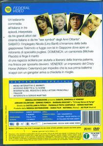 Sabato, domenica e venerdì di Sergio Martino,Pasquale Festa Campanile,Franco Castellano,Pipolo - DVD - 2
