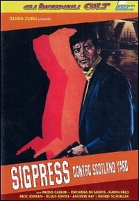 Locandina Sigpress contro Scotland Yard