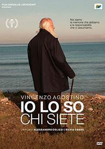 Film Vincenzo Agostino. Io lo so chi siete (DVD) Alessandro Colizzi