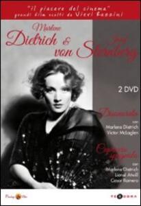 Marlene Dietrich & Josef von Sternberg (2 DVD) di Joseph Von Sternberg