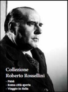 Collezione Roberto Rossellini (3 Blu-ray) di Roberto Rossellini