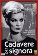 Cover Dvd DVD Cadavere per signora
