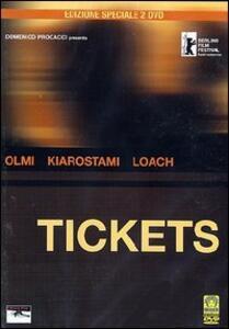 Tickets (2 DVD)<span>.</span> Special Edition di Abbas Kiarostami,Ken Loach,Ermanno Olmi - DVD