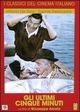 Cover Dvd DVD Gli ultimi cinque minuti