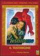 Cover Dvd DVD Il testimone [1]