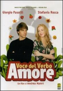 Voce del verbo amore di Andrea Manni - DVD