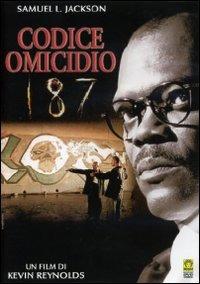 Cover Dvd Codice omicidio 187