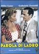 Cover Dvd DVD Parola di ladro
